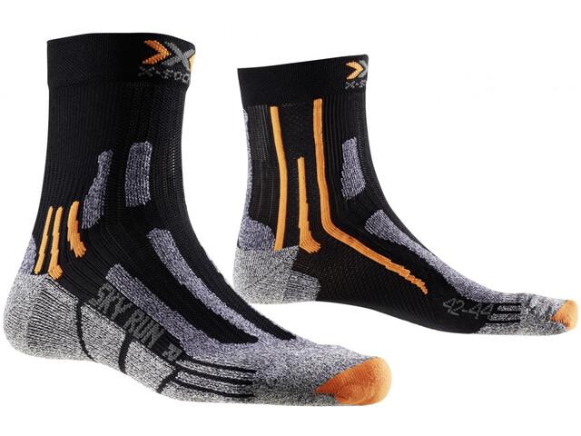 X-Socks Sky Run V2.0 juoksusukat , musta